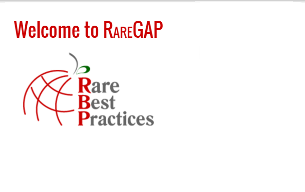 Visit RAREGAP! The RARE-Bestpractices resources collates validated research recommendations for diagnosis and treatment of rare diseases. They are  presented alongside information on ongoing trials